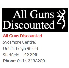 all guns discounted
