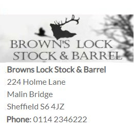 Browns Lock Stock & Barrel